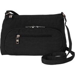 Bueno Crushed Nylon Adjustable Crossbody Handbag
