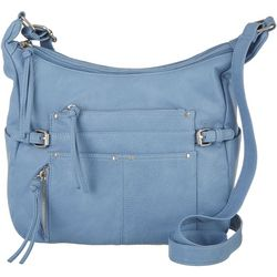 Bueno Washed Solana Crossbody Hobo Bag