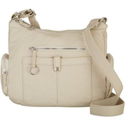 Bueno Washed Large City Crossbody Handbag