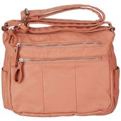 Bueno Smooth Washed Crossbody Handbag