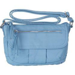 Bueno San Marino Grainy Zip Crossbody Handbag
