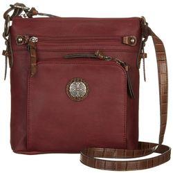 Bueno Mix Media Crossbody Handbag