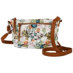Bueno Tropical Grainy Mini Crossbody Bag
