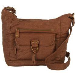 Bueno Front Pocket Hobo Shoulder Handbag