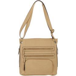 Vegan Leather Convertible Shoulder Handbag