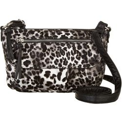 Bueno Cheetah Print Crossbody Handbag