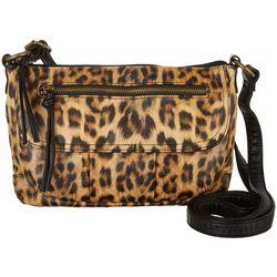 Bueno Leopard Print Crossbody Handbag