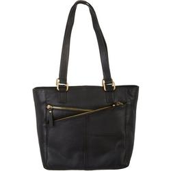 Multi Zip Tote Handbag