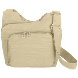 Bueno Solid Nylon Crossbody Handbag