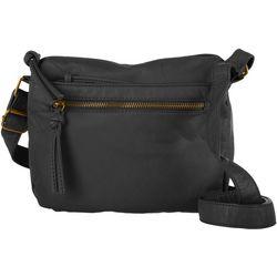 Bueno Solid Single Zip Crossbody Handbag