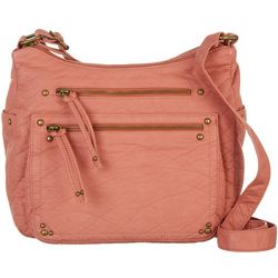 Bueno Elephant Washed Shoulder Crossbody Handbag
