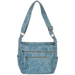 Bueno Antique Wash Shoulder Handbag