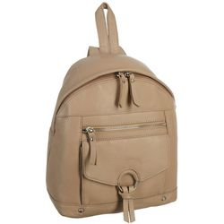 Great American Leather Covered Ring Backpack Purse