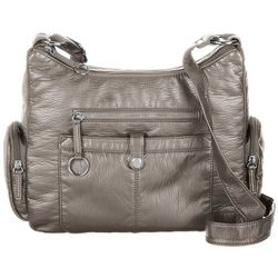 Bueno Large Cargo Pocket Solid Crossbody Handbag
