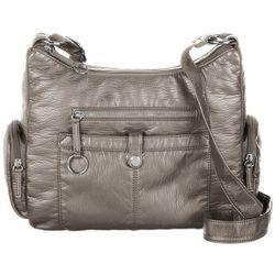 Bueno Large Cargo Pocket Solid Crossbody Handbag