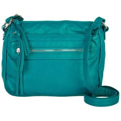 Bueno Pearl Washed Solid Crossbody Handbag