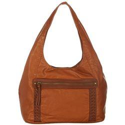 Bueno Pearl Washed City Hobo Handbag