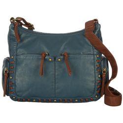 Bueno Pearl Washed Crossbody Handbag