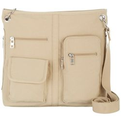 Bueno Multi-Pocket Crossbody Handbag