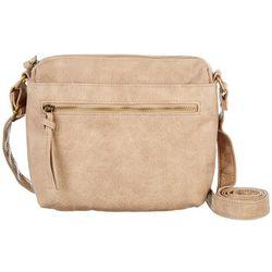 Bueno Antique Washed Pebble Crossbody Handbag