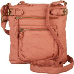 Bueno Grainy Elephant Wash Crossbody Handbag