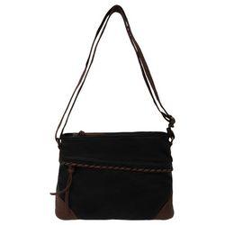 Bueno Washed Contrast Stitch Crossbody Handbag