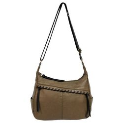 Bueno Whipstitch Shoulder Crossbody Handbag