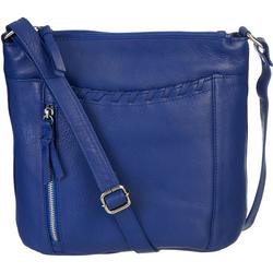 Whiptitched Detail Shoulder Handbag