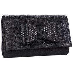 D'Margeaux Bow & Rhinestones Crossbody Handbag