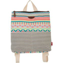 Unionbay Aztec Stripe Flat Backpack