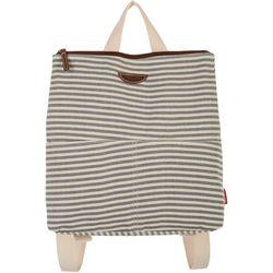 Unionbay Striped Flat Backpack