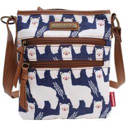 Unionbay Llama Crossbody Handbag