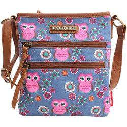 Unionbay Owl Print Crossbody Handbag