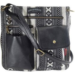 Unionbay Aztec Stripes Crossbody Handbag