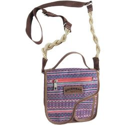 Unionbay Horizontal Stripes Crossbody Handbag
