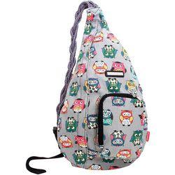 Unionbay Owl Print Sling Backpack