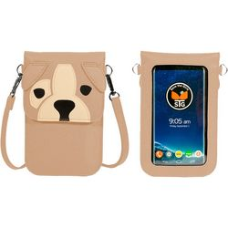 Save The Girls Dog Cell Phone Handbag