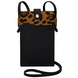 Save The Girls Sweet Savage Leopard Cell Phone Crossbody