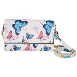 Save the Girls Desirae Butterfly RFID Crossbody Handbag