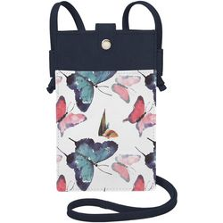Save The Girls Lacey Mae Butterfly Cell Phone Handbag
