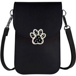 Save The Girls Paw Print Cell Phone Handbag