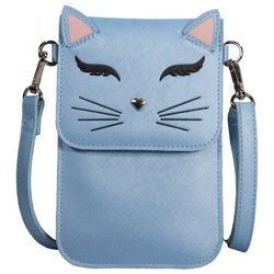 Save The Girls Fun Cat Cell Phone Handbag