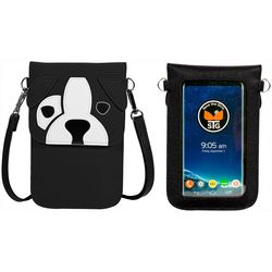 Save The Girls Fun Dog Cell Phone Handbag