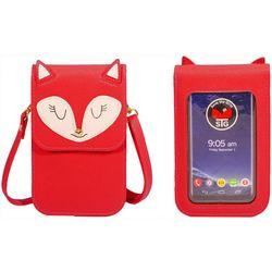 Save The Girls Fun Fox Cell Phone Handbag