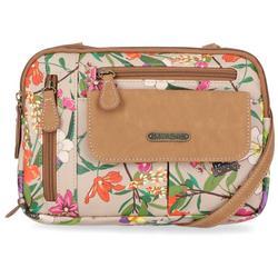 Zippy Floral Print Crossbody Handbag