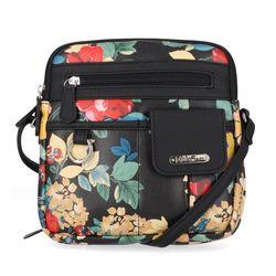 MultiSac North/South Zip Around Crossbody Bag