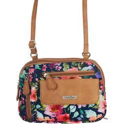 MultiSac Zippy Wild Flower Crossbody Handbag