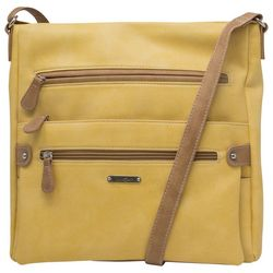 MultiSac Lorraine Solid Crossbody Handbag