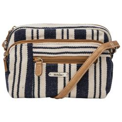 Mini Dynamic Striped Crossbody Handbag