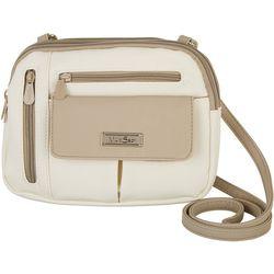 MultiSac Two Tone Zippy Crossbody Handbag